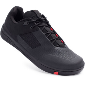Crankbrothers Stamp Lace Shoes, negro/rojo